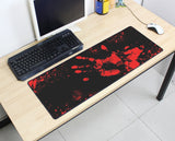 Large Bloody Hand Mouse Pad 800x300MM Best PC Gaming Mouse Pad HD Print