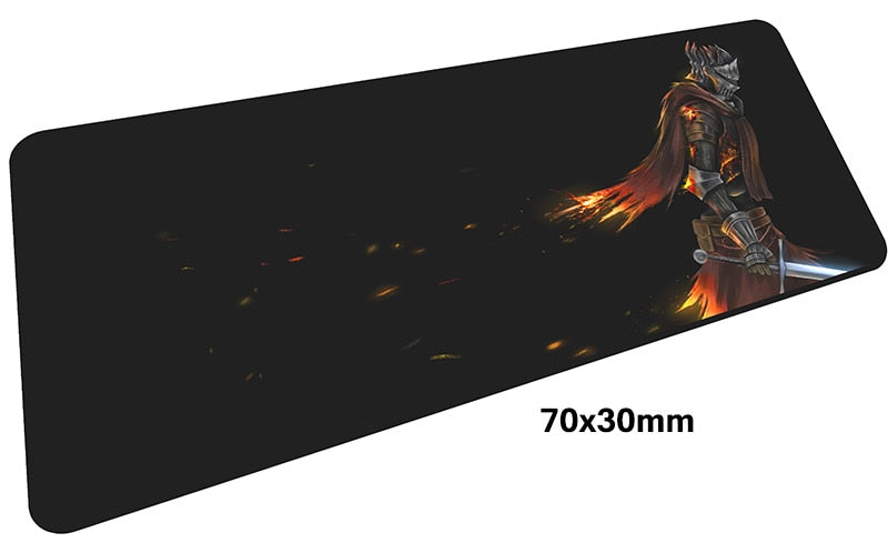 Dark Souls Knight Large Mouse Pad 700x300mm Best PC Gaming Pad HD Print