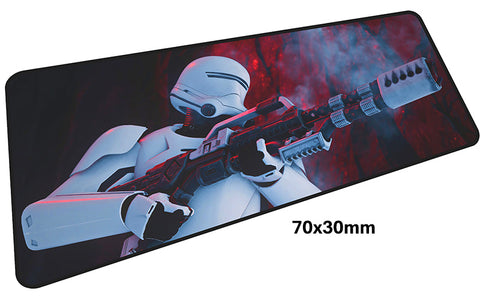 Star Wars Trooper Large Mouse Pad 700x300mm Best PC Gaming Pad HD Print
