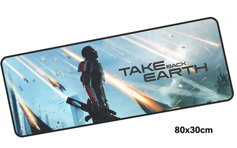 Mass Effect Take Back Earth Large Mouse Pad 800x300mm Best PC Gaming HD Print