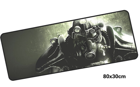 Fallout Power Armor Giant Mouse Pad 800x300mm Best PC Gaming Pad HD Print