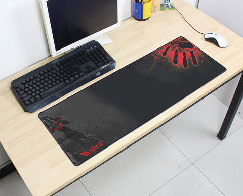 Bloody Hand & Gun Large Mouse Pad 800x300X3MM Best PC Gaming Mouse Pad HD Print