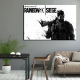 Tom Clancy's Rainbow Six Siege Modern Décor Wall Art Canvas HD Print