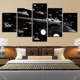 5 Panel Star Wars Glorious Imperial Fleet Modern Decor Canvas Wall Art HD Print