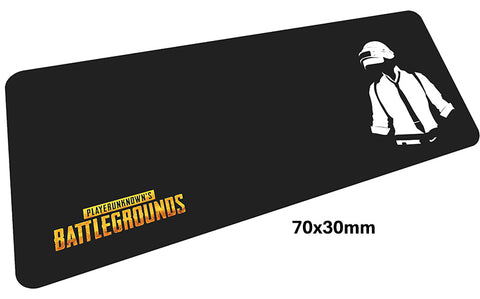 PUBG Silhouette Large Mouse Pad 700x300mm Best PC Gaming Pad HD Print