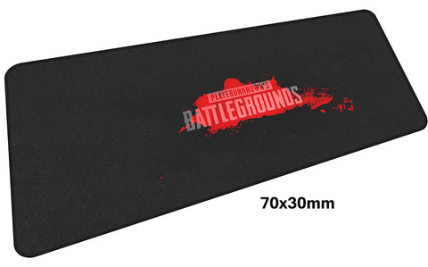 PUBG Bloody Logo Large Mouse Pad 700x300mm Best PC Gaming Pad HD Print
