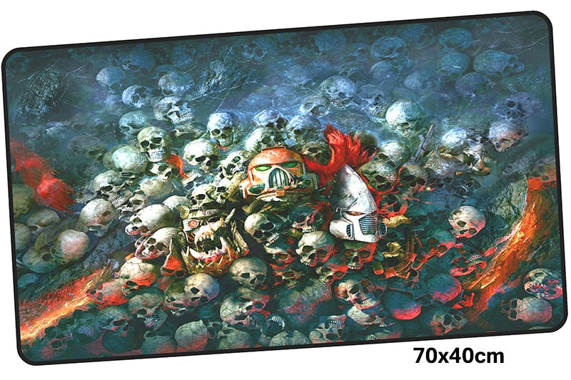 Warhammer 40k Skulls Large Mouse Pad 700x400mm Best PC Gaming Pad HD Print