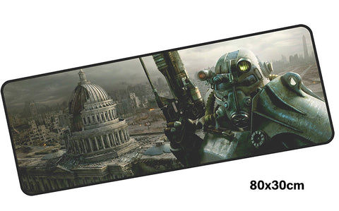 Fallout Capital Wasteland Giant Mouse Pad 800x300mm Best PC Gaming Pad HD Print