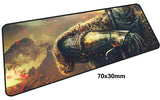 Dark Souls Resting Knight Large Mouse Pad 700x300mm Best PC Gaming Pad HD Print