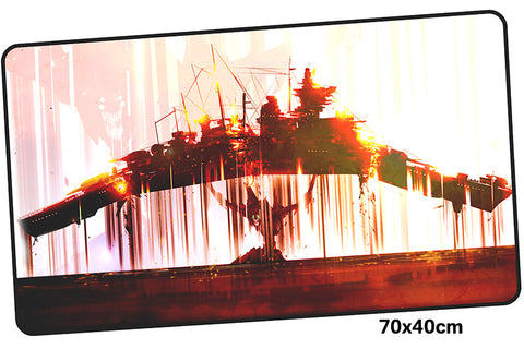 Neon Genesis Evangelion Ship Large Mouse Pad 700x400mm Best PC Gaming Pad HD Print