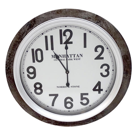 Manhattan Clock 78cm
