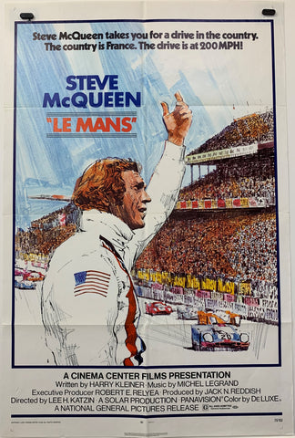 LE MANS (1971) ORIGINAL MOVIE POSTER