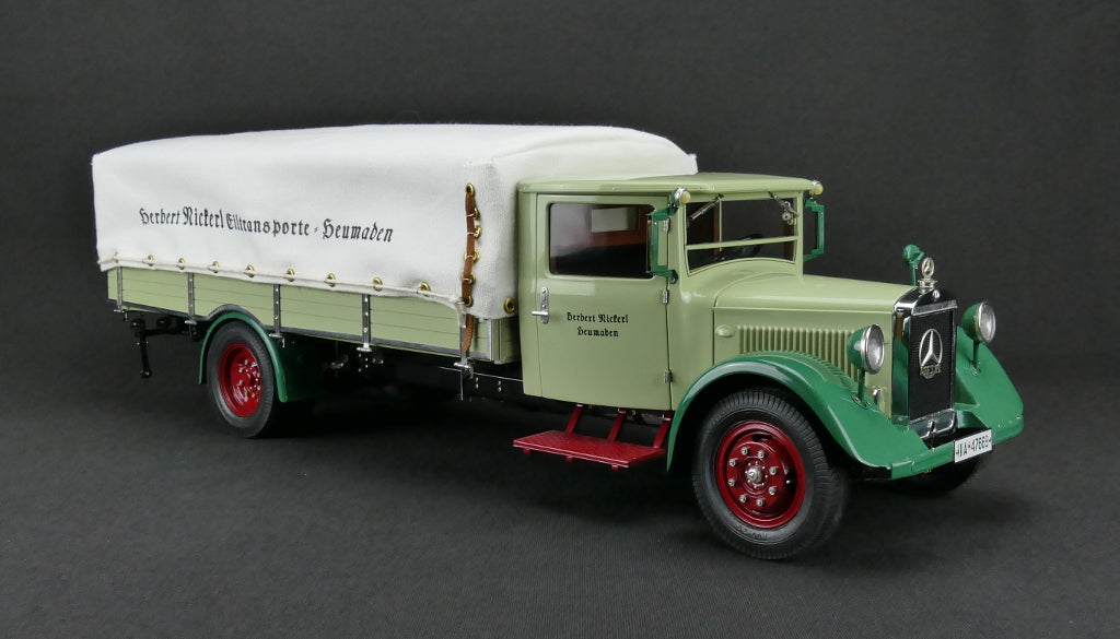 CMC M-170 Mercedes-Benz LO 2750, 1934-38 Truck with tarpaulin