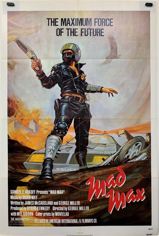 MAD MAX (1979) ORIGINAL MOVIE POSTER
