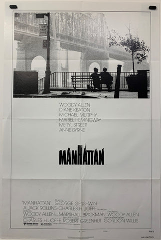 MANHATTAN (1979) ORIGINAL MOVIE POSTER