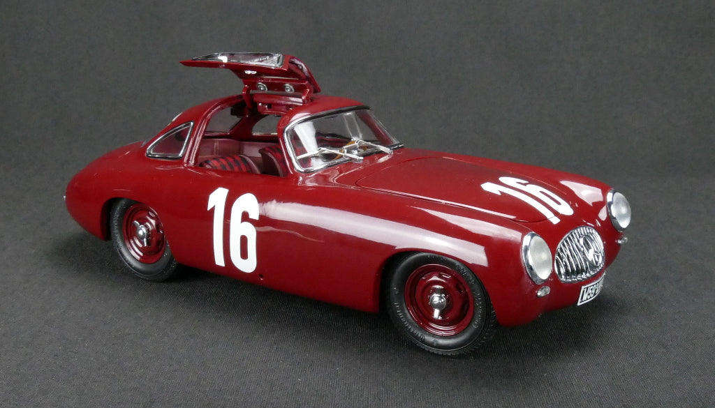 CMC M-160 Mercedes-Benz 300 SL Great Price of Bern, 1952 #16 (Red)
