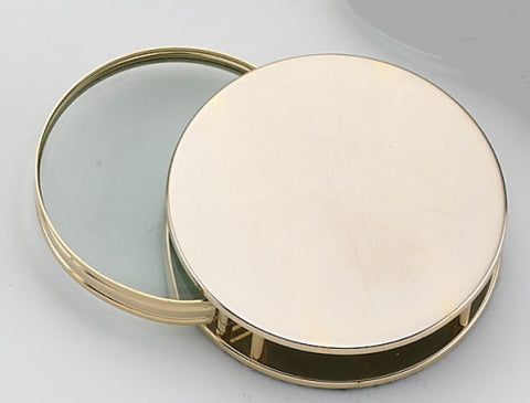 24K Gold Plated Magnifier with Pouch