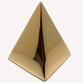 24K Pyramid Paper Weight
