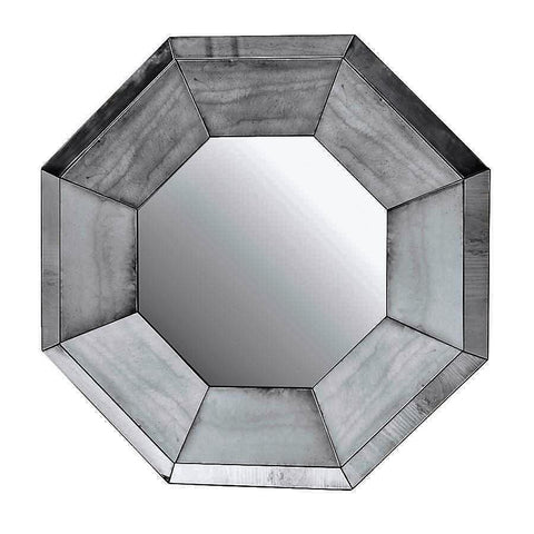 Shanghai Octagonal Wall Mirror - Antique