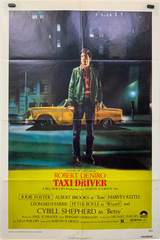 TAXI DRIVER (1976) ORIGINAL MOVIE POSTER