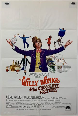 WILLY WONKER & THE CHOCOLATE FACTORY (1971) ORIGINAL