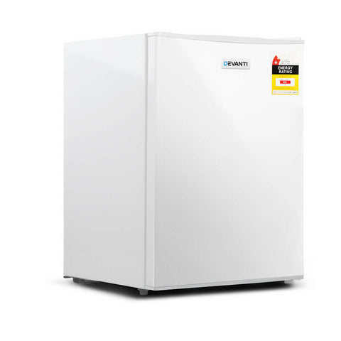 Devanti 70L Portable Mini Bar Fridge - White