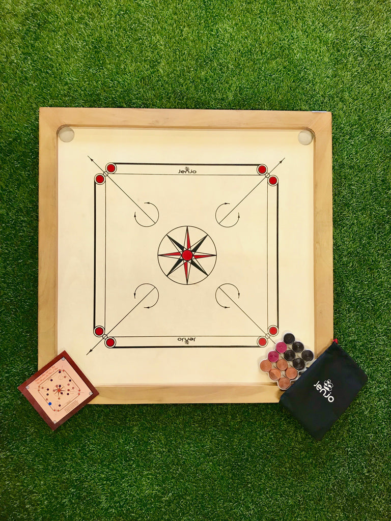 Carrom Board with Internal Playing Area