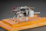 CMC M-126 Maserati Birdcage Tipo 61 Engine with showcase