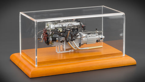 CMC M-133 Aston Martin DB4 GT Engine with showcase
