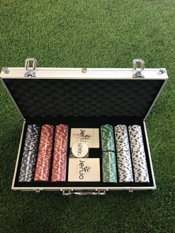 Poker Sets With Premium Plastic Playing Cards