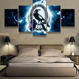 5 Panel Collingwood Football Club Modern Décor Canvas Wall Art HD Print.