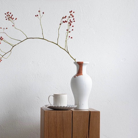 Handmade vase Fragment one of a kind available at JAHOKO:COM