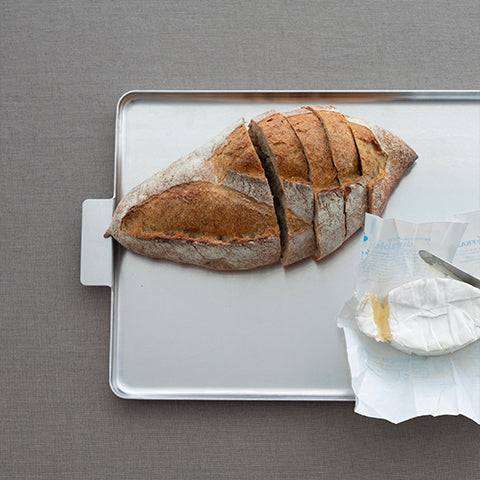 Alminium tray for bread, serving - use it for all kind of purposes