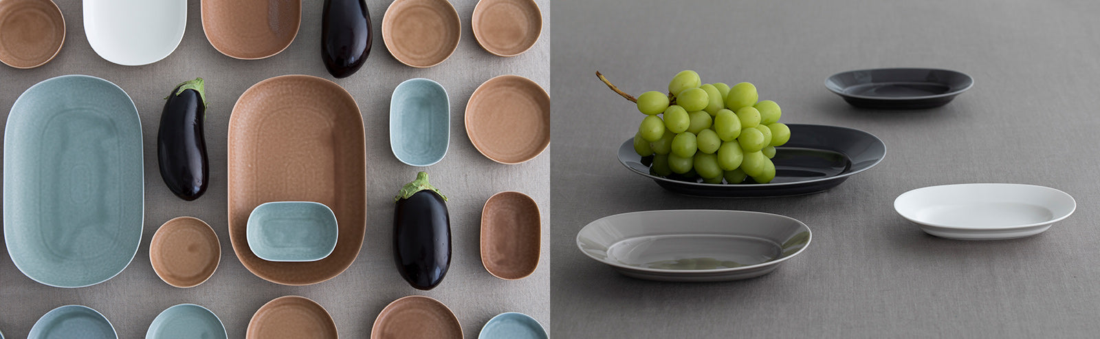 "The ceramic series ""ReiRABO"" is inspired by the traditional Irabo Glaze"