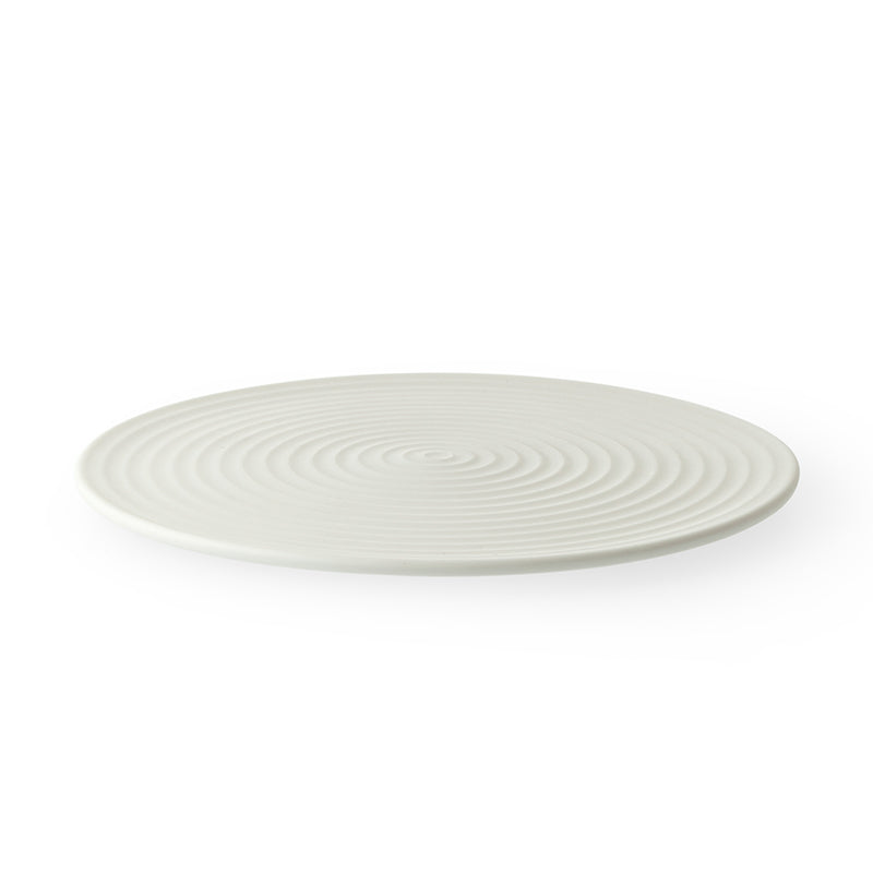 Cekitay Circle small plate - white sand (S)