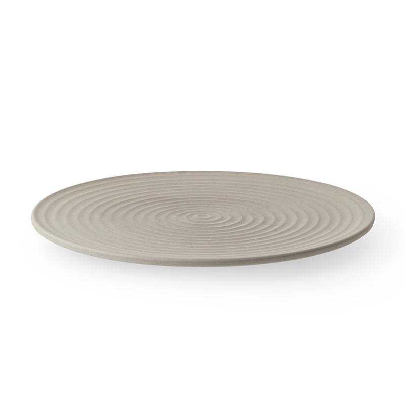 Cekitay Circle small plate - stone grey (S) 🇯🇵 25 % off - ZEN