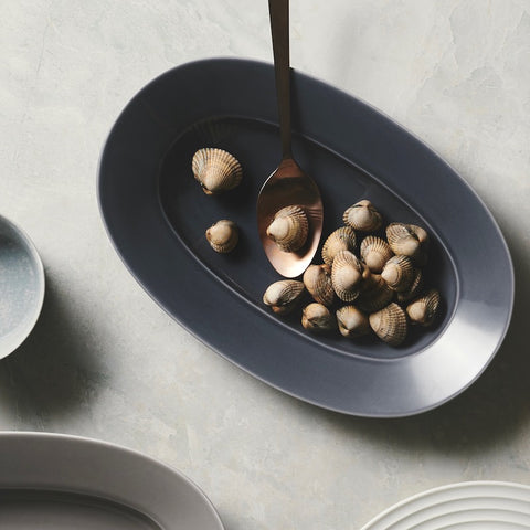 Cekitay Circle small plate - stone grey (S)