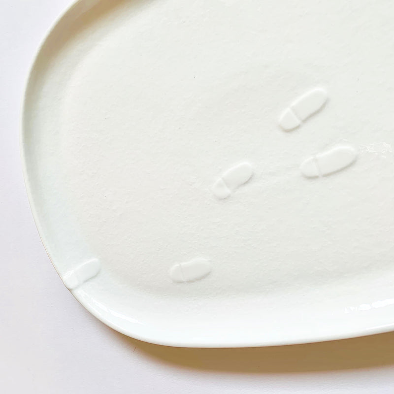 Snow dinner large plate 40 % OFF❄️