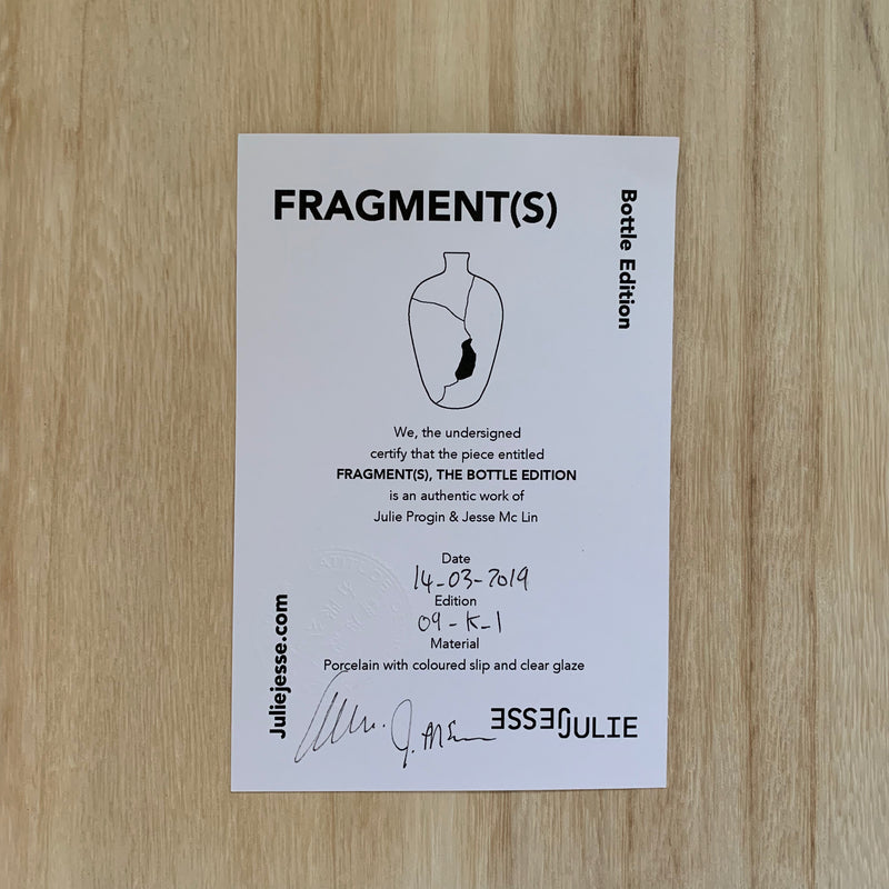 Vases - Fragment(s) Bottle Series - low (09-K-1)