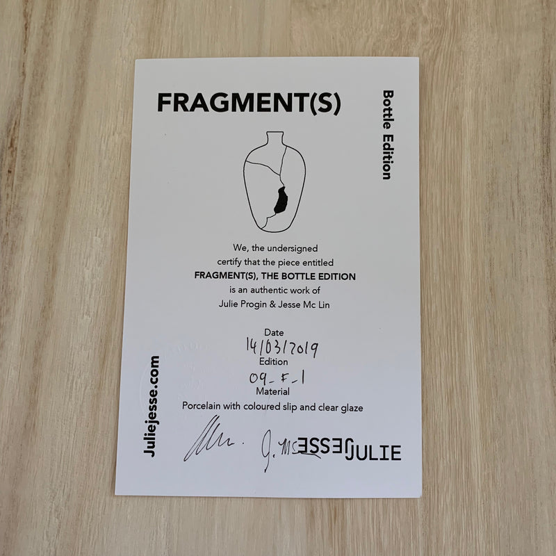 Vases - Fragment(s) Bottle Series - low (09-F-1)