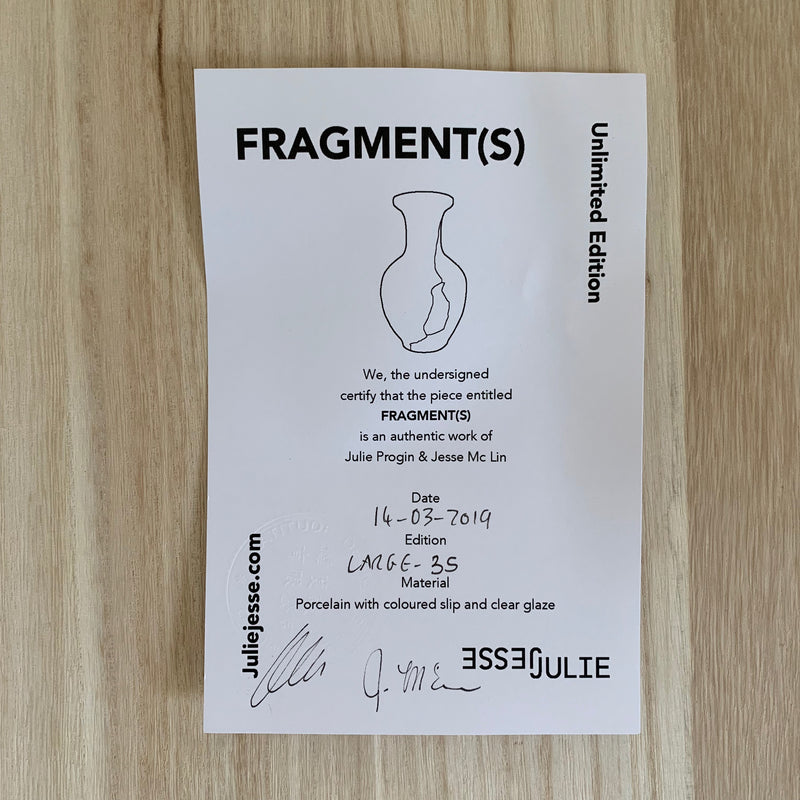 Vases - Fragment(s) Large - Edition 35