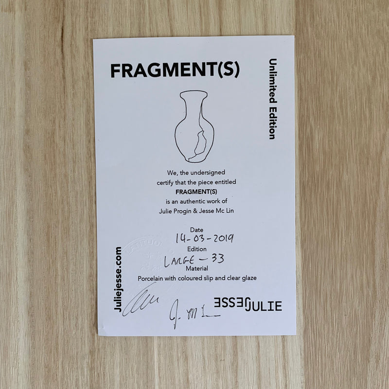 Vases - Fragment(s) Large - Edition 33
