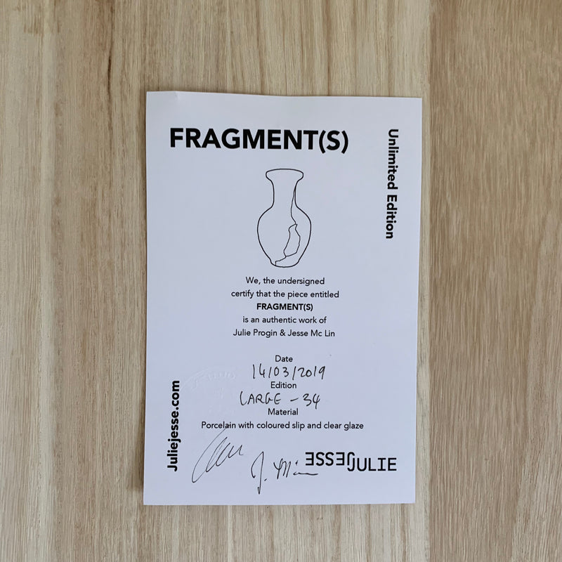 Vases - Fragment(s) Large - Edition 34