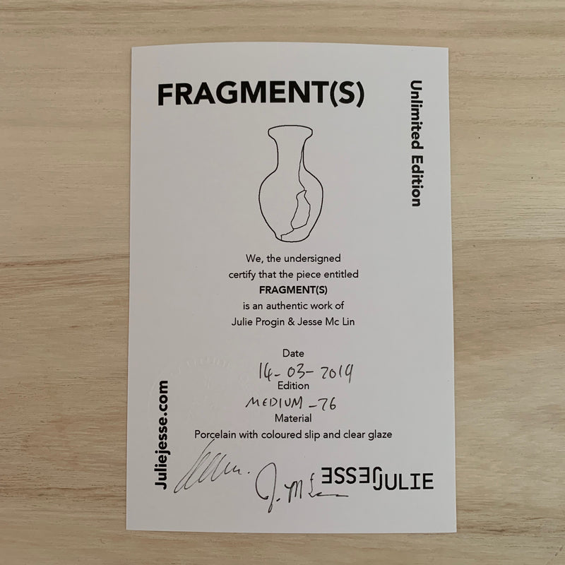 Vases - Fragment(s) Medium - Edition 26