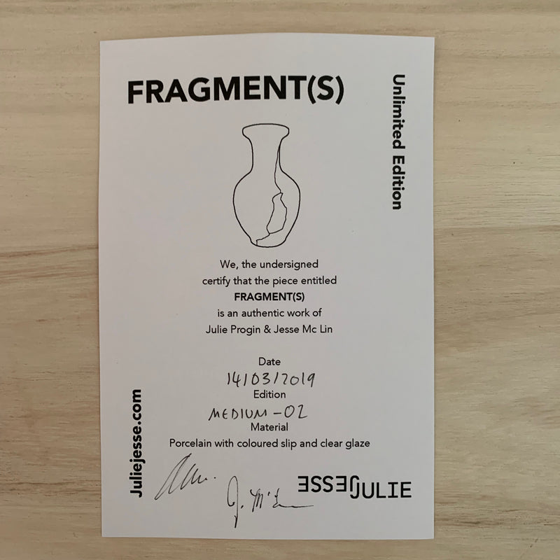 Vases - Fragment(s) Medium - Edition 02