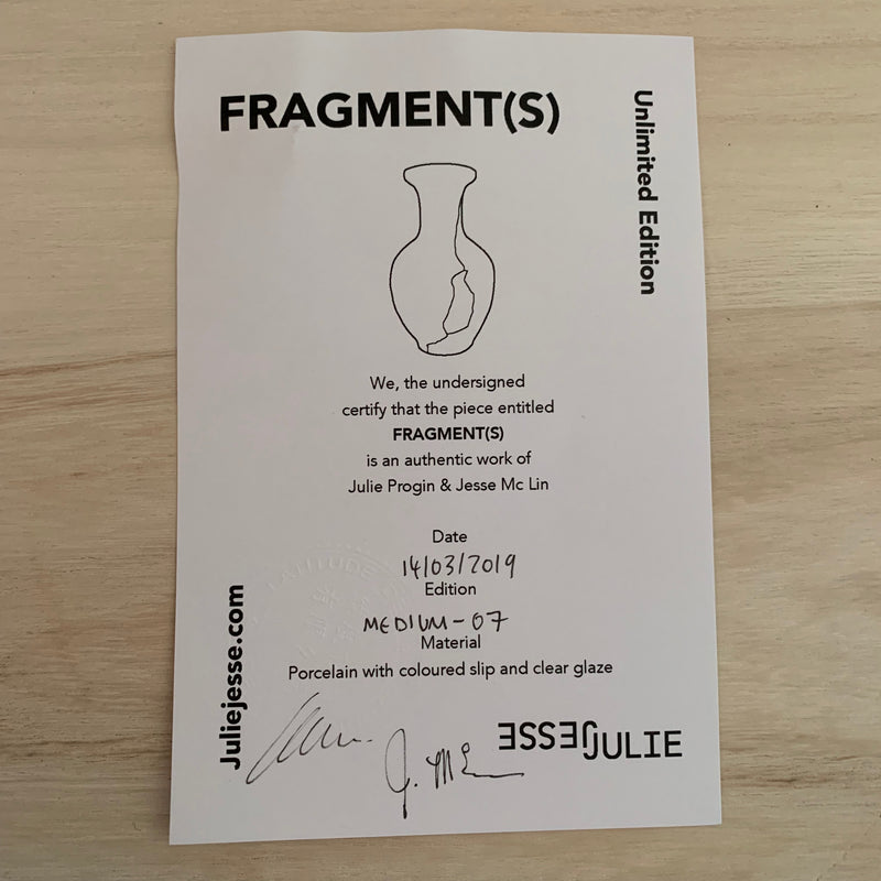 Vases - Fragment(s) Medium - Edition 07