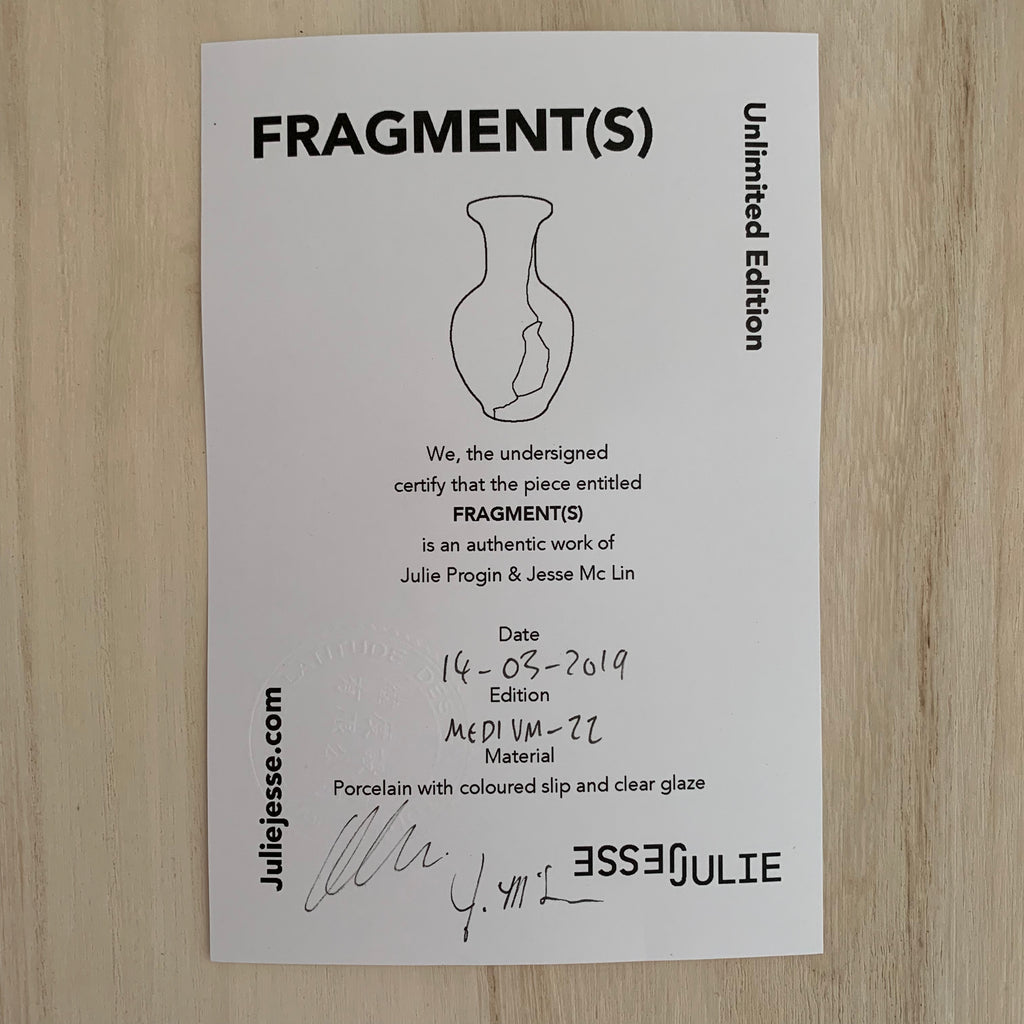 Vases - Fragment(s) Medium - Edition 22