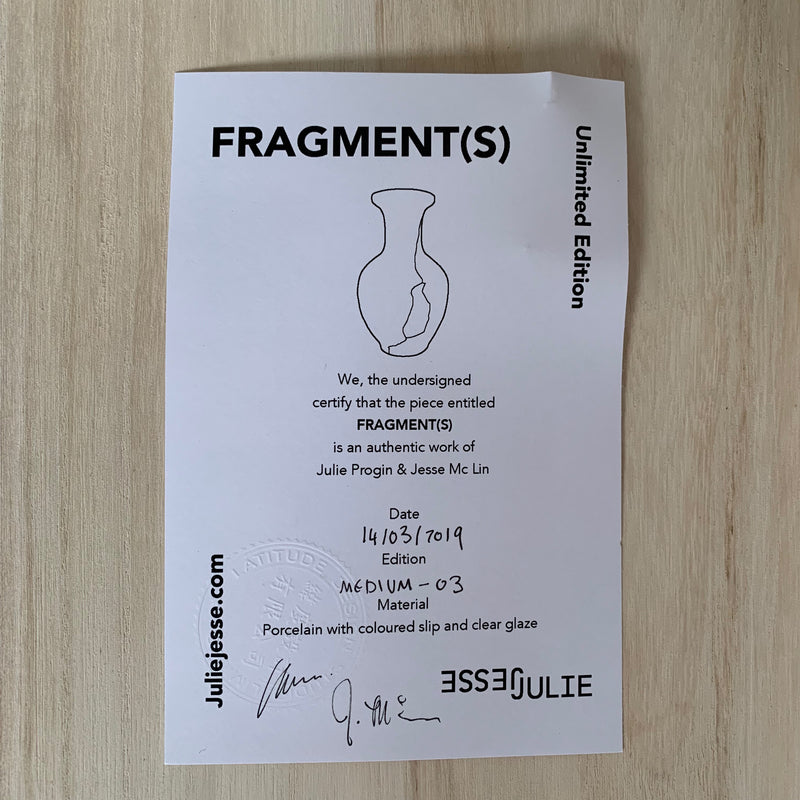 Vases - Fragment(s) Medium - Edition 03