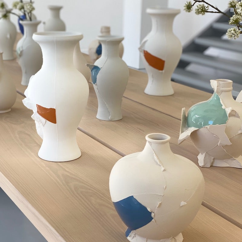 Vases - Fragment(s) Bottle Series - low (09-J-1)