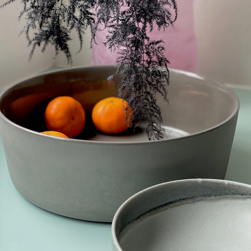 Grey basic bowl